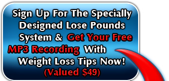 top of the lose pounds opt in graphic